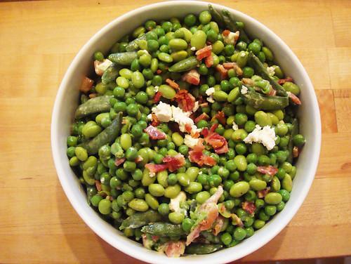 Easter pea salad