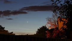 Venus and Mercury (markkilner) Tags: venus mercury planets conjunction astronomy sunset twilight evening canon eos 40d dslr kent england kilner 50mm broadstairs astrophotography skyatnight skytelescope cloudynights mirrorlockup astro:gmt=20100404t1938 astro:subject=venus astro:subject=mercury dusk astrometrydotnet:id=alpha20100433572913 astrometrydotnet:status=failed southeast oursolarsystem thanet