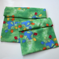 ~honor~ earth  <br> set of 2 reusable snack bags NYLON lining