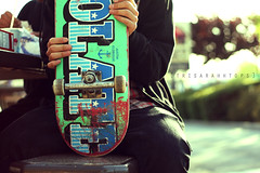 Sean Wang (Sarah Ching) Tags: boy blur macro bench table outside spring focus break bokeh chocolate turquoise board fingers wheels sean jeans deck skate skateboard prints vans skater beanie scratched selling hold pints cheezit explored sellingprints tumblr trisarahhtops
