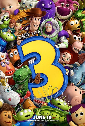 Toy Story 3 Complete Toys Movie Poster