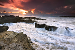 Jealousy is tacky. Instead, admire another's beauty and let it inspire you because tearing them down will only show others just how ugly you really are! (tropicaLiving - Jessy Eykendorp) Tags: sunset bali seascape nature canon indonesia landscape reverse hitech singhray tropicaliving