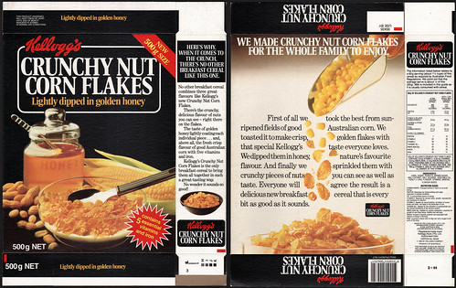 It's Crunchy Nut Corn Flakes