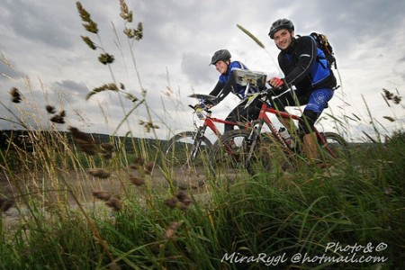Bike Adventure 2010 - ve vojenském prostoru Brdy
