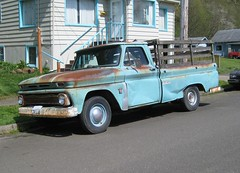 Chevy sixties pickup