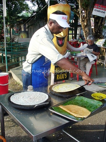 Thosai In The Making
