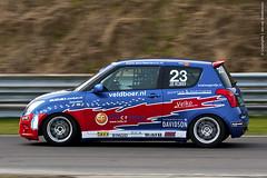 Suzuki Swift Cup - Jos Veldboer (Jan v B) Tags: race racing zandvoort cpz paasraces circuitparkzandvoort