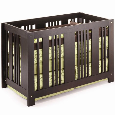 Project Nursery:  AP Industries Element Crib