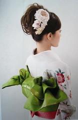 k7 (thea superstarr) Tags: japan magazine hair japanese traditional formal style styles kimono mook 2010 kanzashi