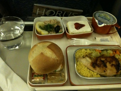 EgyptAir meal