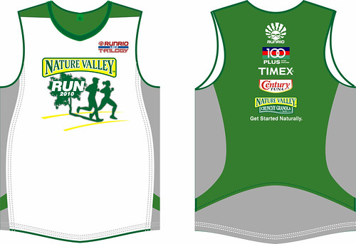 Nature Valley Run 2010 Singlet