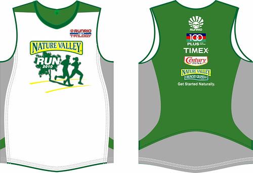 Nature Valley Run 2010 Singlet