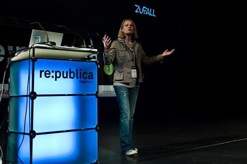 flickr: Foto vom Vortrag von Miriam Meckel bei der rp10