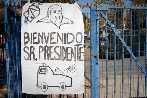 Welcome Piñera