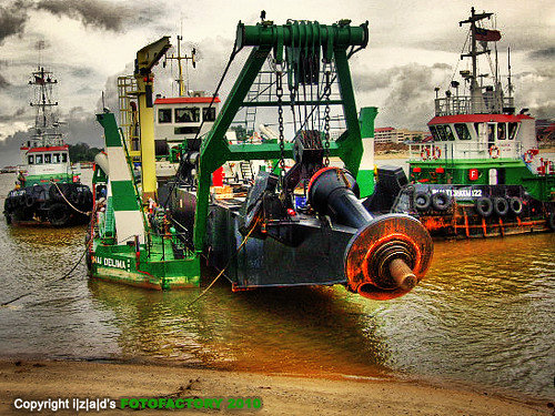 Inai Delima : Cutter Suction Dredger (CSD)