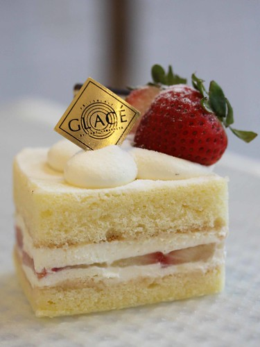 Strawberry Shortcake @ Patisserie Glace