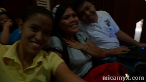 Mica, Gee and Rommel