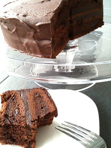 Nigella Broken Heart Chocolate Cake
