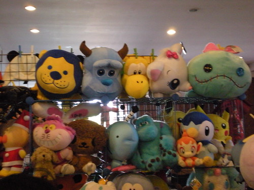 Stuffed heads and more at Komikon