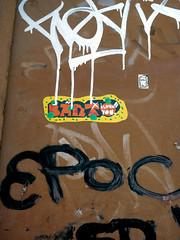 Streetart in Köln/Cologne 2010 (kami68k -all over-) Tags: street streetart art sticker tag cologne köln tags iloveyou tagging 2010 handstyles handstyle barto epok