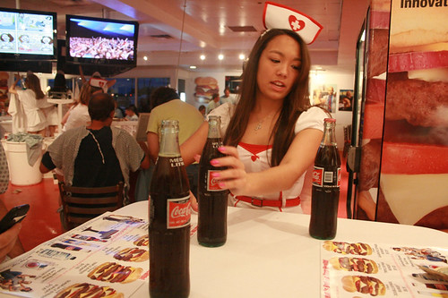 heart attack grill dallas. Heart Attack Grill opens to