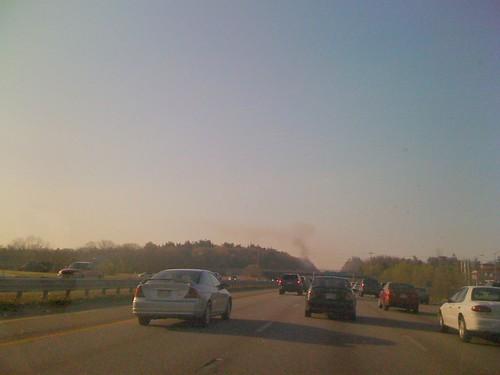 Car Fire - First