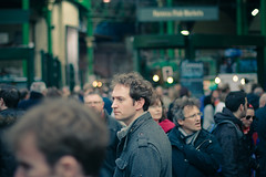 (not) there (imageneer) Tags: street people london market crowded borought