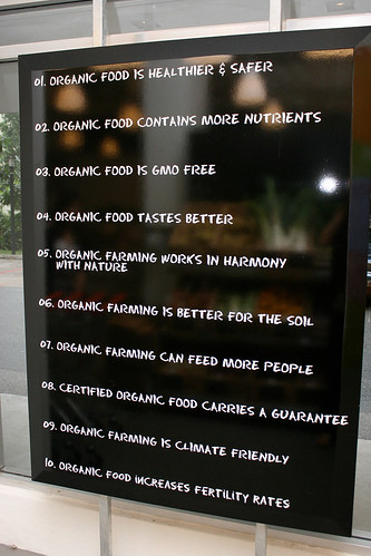 Supernature reasons to go organic