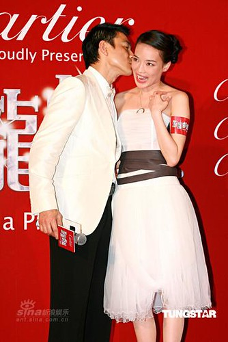 Andy Lau & Shu Qi  at the Hong Kong Film Awards