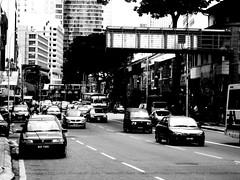 ... (OrangeRy ~ Sara) Tags: city white black streets nikon malaysia kuala jam lumpur trafic    d90