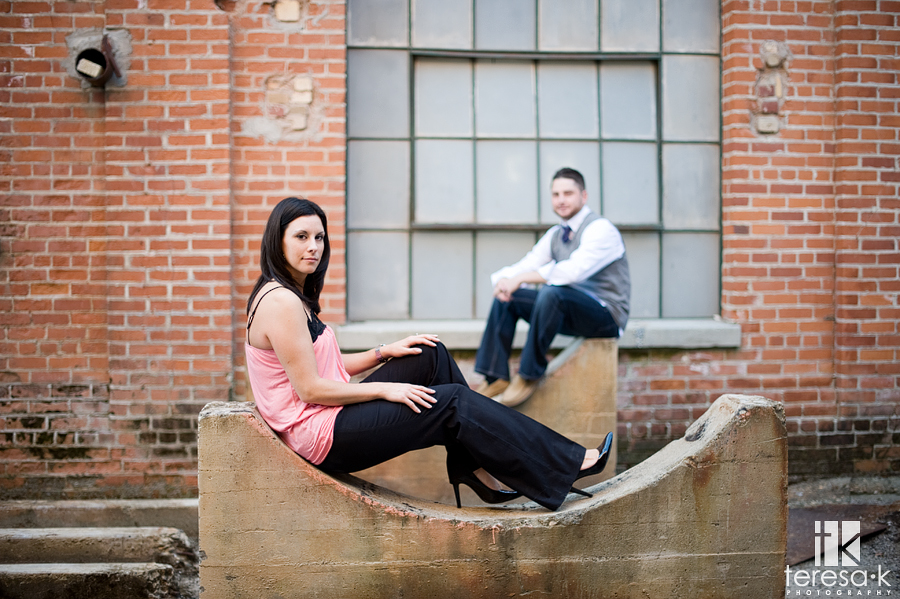Old Sugar Mill Engagement Session in Clarksburg California by Teresa K photography, Folsom engagement photographer, Sacramento Delta Engagements