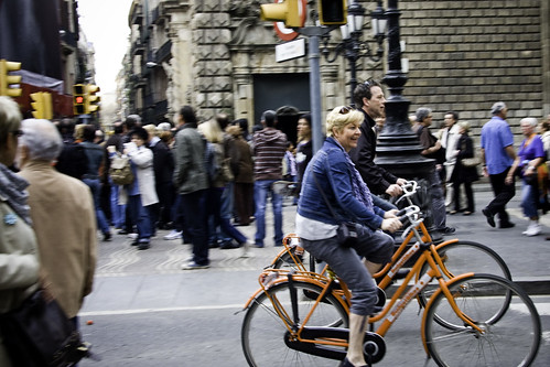 Barcelona Bicycle Joy