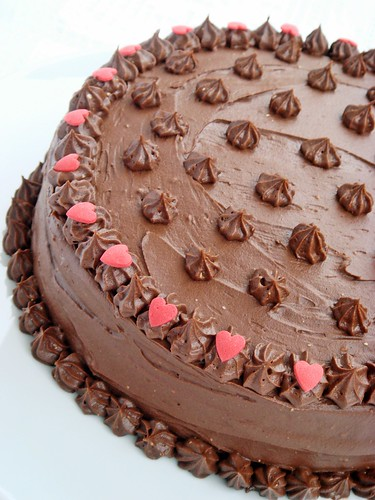 Chocolate cake for weeding anniversary