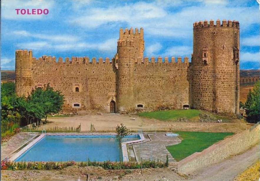 Castillo de San Servando tras la restauración de mediados de siglo
