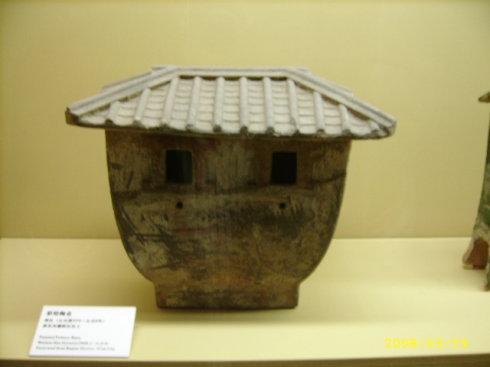 汉朝时期的粮仓
