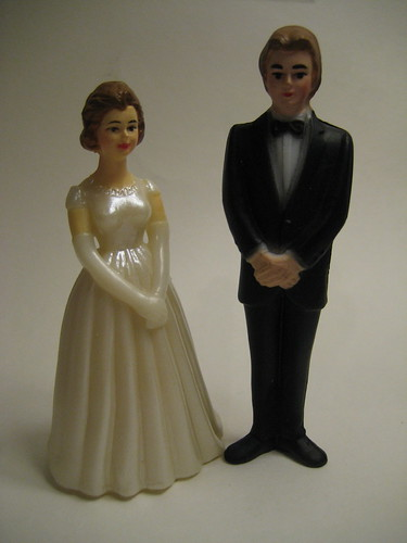 Vintage cake topper fall wedding cake toppers Image by sarah is looking