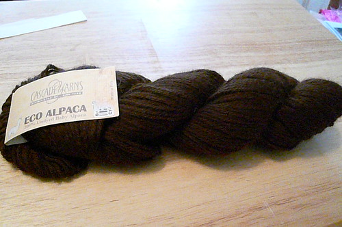 Eco Alpaca Choc Brown