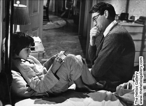 Mary Badham & Gregory Peck