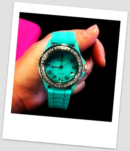 Turquoise Jelly Watch