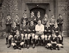 Radcliffe House Junior Cup Team 1958