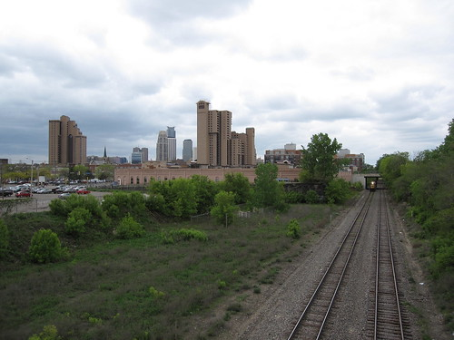 View of Downtown from 5th St Bridge