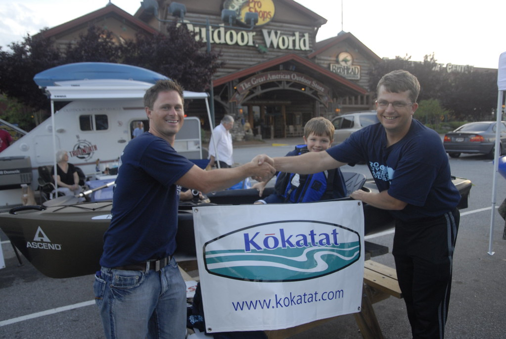 Randy Meredith wins the Kokatat Casual Angler division