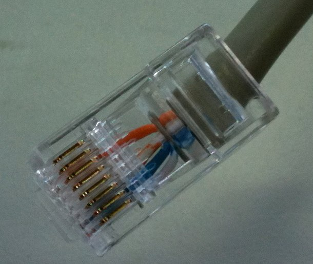 Navico cable to RJ-45 jack