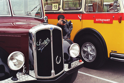 Oldtimer bus race