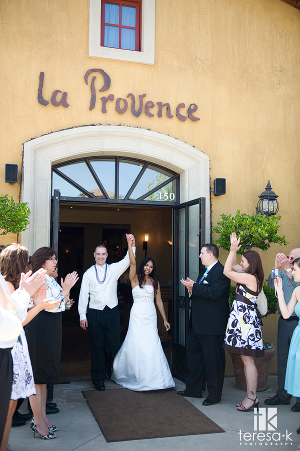 Landon and Brigette's Romantic La Provence Wedding by Teresa K photography, Roseville wedding photographer