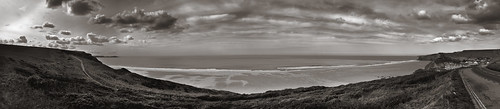 Day 113 - Panorama - Watergate Bay, Cornwall