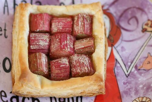 Rhubarb tarts /Rabarbrikoogid