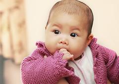 My Princess Mia | 3 Months Old (Taufik Sallehuddin) Tags: baby cute love girl canon kid child comel muslim islam daughter adorable mia lovely malaysian amani melayu malay taufik 50d canon50d azfiqs miaamani