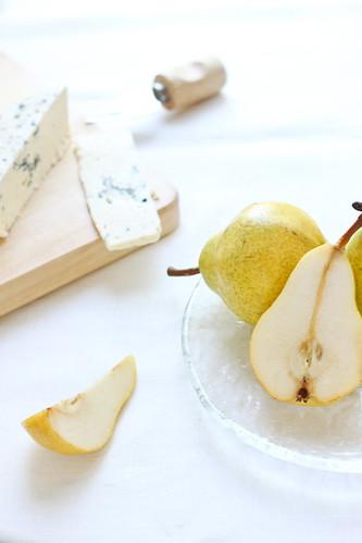 Milfulls de pera i gorgonzola