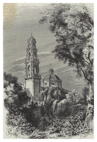 015-Iglesia de San Juan de Teotihuacan-Mexico-Les Anciennes Villes du nouveau monde-1885- Désiré Charnay